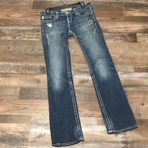 Big Star jeans Sweet Boot style size 28 Used